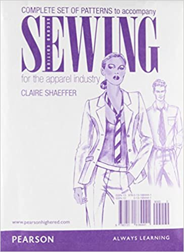 Buy Patterns For Sewing For The Apparel Industry Book Online At Low