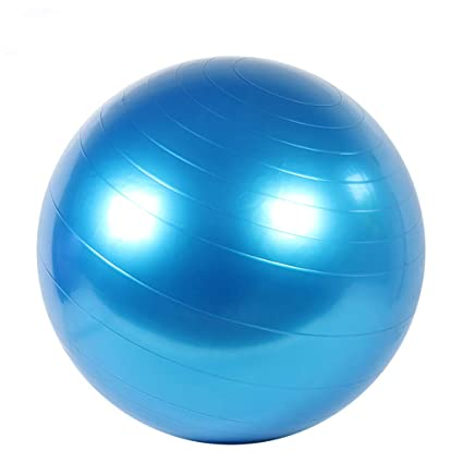 Amazon.com: GSPYJQ Yoga Ball 55/75cm Thick Explosion-Proof ...