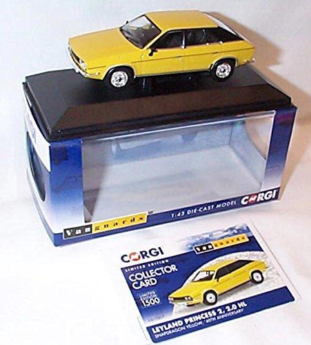 Corgi vanguards leyland princess 2 2.0 HL snapdragon Gelb 40th anniversary car 1.43 scale diecast model by Corgi