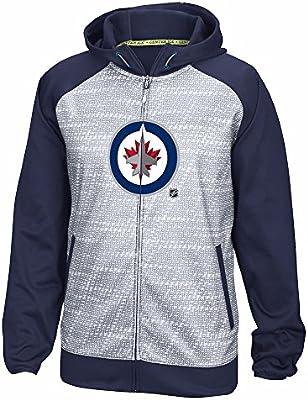 Winnipeg Jets NHL Reebok azul marino azul centro hielo TNT ...