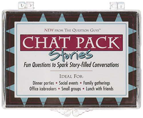 Chat Pack Stories: Fun Questions to Spark Story-filled Conversations (Question Pack)