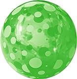 FIELDOOR beach ball 51cm Green (polka dots) (japan import)