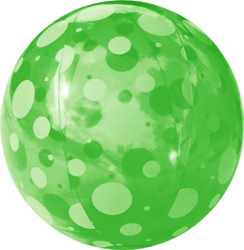 FIELDOOR beach ball 51cm Green (polka dots) (japan import) by Composite