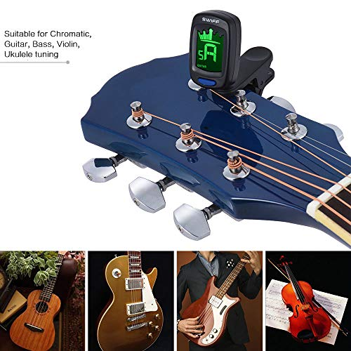 WildCard-India-Clip-On-Automatic-Digital-Electronic-Crown-Tuner-LCD-Display-for-Guitar-Chromatic-Bass-Ukulele-Violin