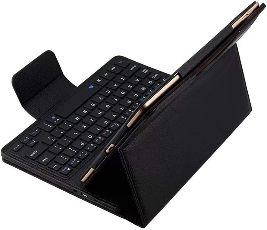 Color : Red Leather Stand Case Cover 20A Drop Shipping Keyboard QYLLXSYY Slim Bluetooth Keyboard