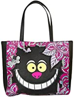 Loungefly Disney Alice In Wonderland Cheshire Face Tote