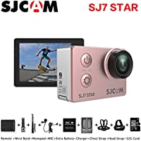 Sport Action Camera, Newest Original SJCAM SJ7 Star 1080P Action Cam Waterproof Sport DV Camera, Rose Gold