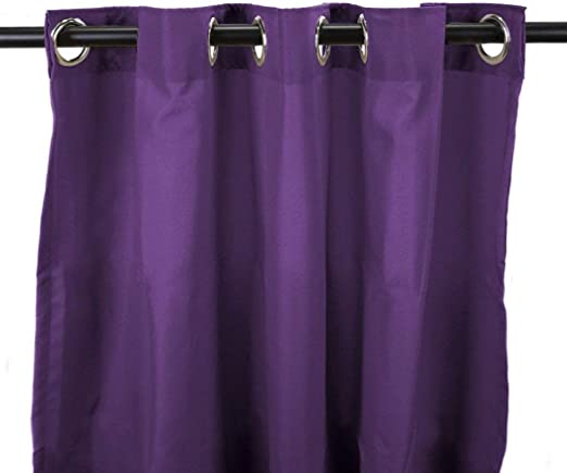 1Pieza 84 UVA color Gazebo cortina Panel único, morado Color ...