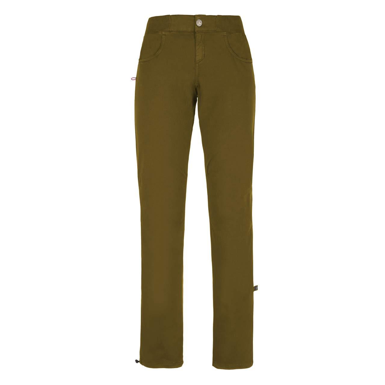 Olive XL E9 FFaibleer - Pantalon Femme - Olive 2019