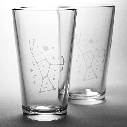 space pint glass - 6