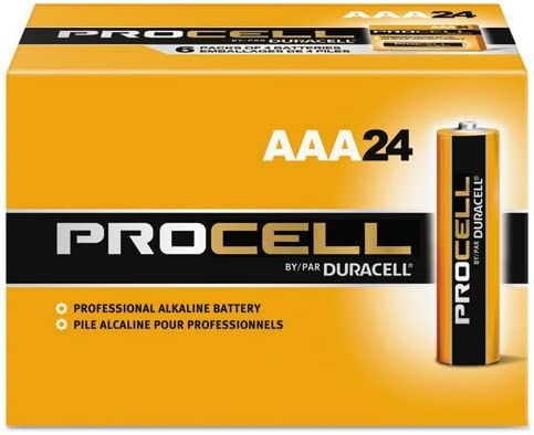 24//Box by Duracell Procell Alkaline Batteries AAA