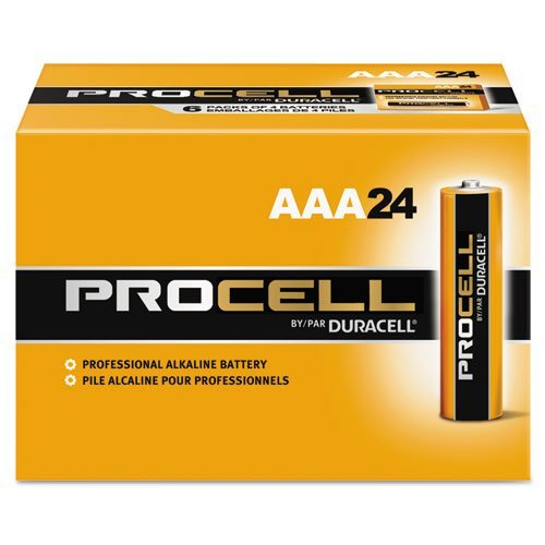 Bulk ProCell Batteries,  AA, 24/Box, PC1500 by Duracell