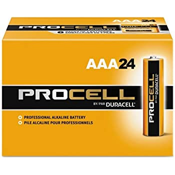Amazon.com: Duracell Procell AA 24 Pack PC1500BKD09