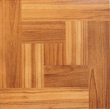 Square Wood Floor Tiles Vinyl Parquet Brown Dark Pine Wooden Effect Selfadhesive W In Inspiration