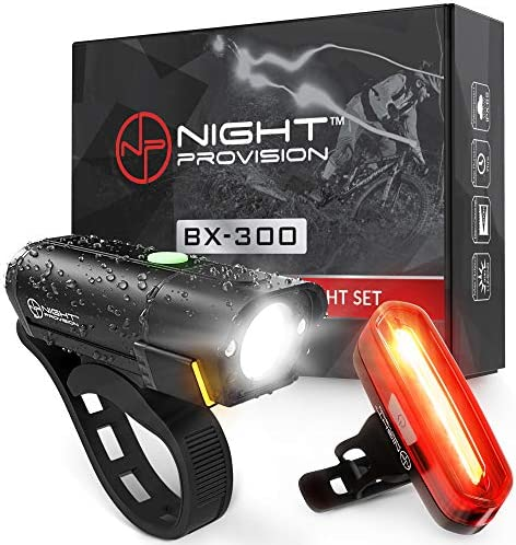 Powerful BX 300 Rechargeable Cycling Headlight