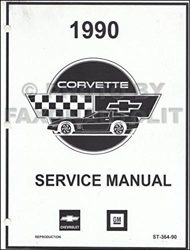 1990 Corvette Repair Shop Manual Factory Reprint