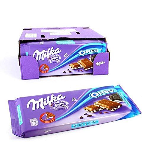 Milka - Tableta De Chocolate Leche Oreo, Pack 20 unidades de 100 g: Amazon.es: Alimentación y bebidas