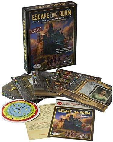 Think Fun - Escape The Room: Misterio en la mansión del ...
