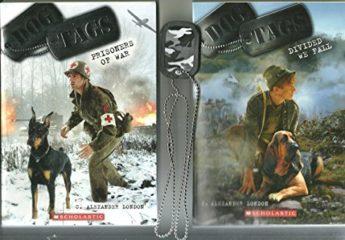 Dog Tags 2 PK: #3 Prisoners of War & #4 Divided We Fall (Bonus Camo Dog Tag necklace)
