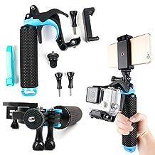 Floating Hand Grip Trigger Stabilizer Support Mount for SJCAM Cameras: M20, SJ Z1000, SJ1000, SJ4000, S4000+, SJ5000, SJ5000 Plus, SJ5000 Elite, SJ5000x - by DURAGADGET