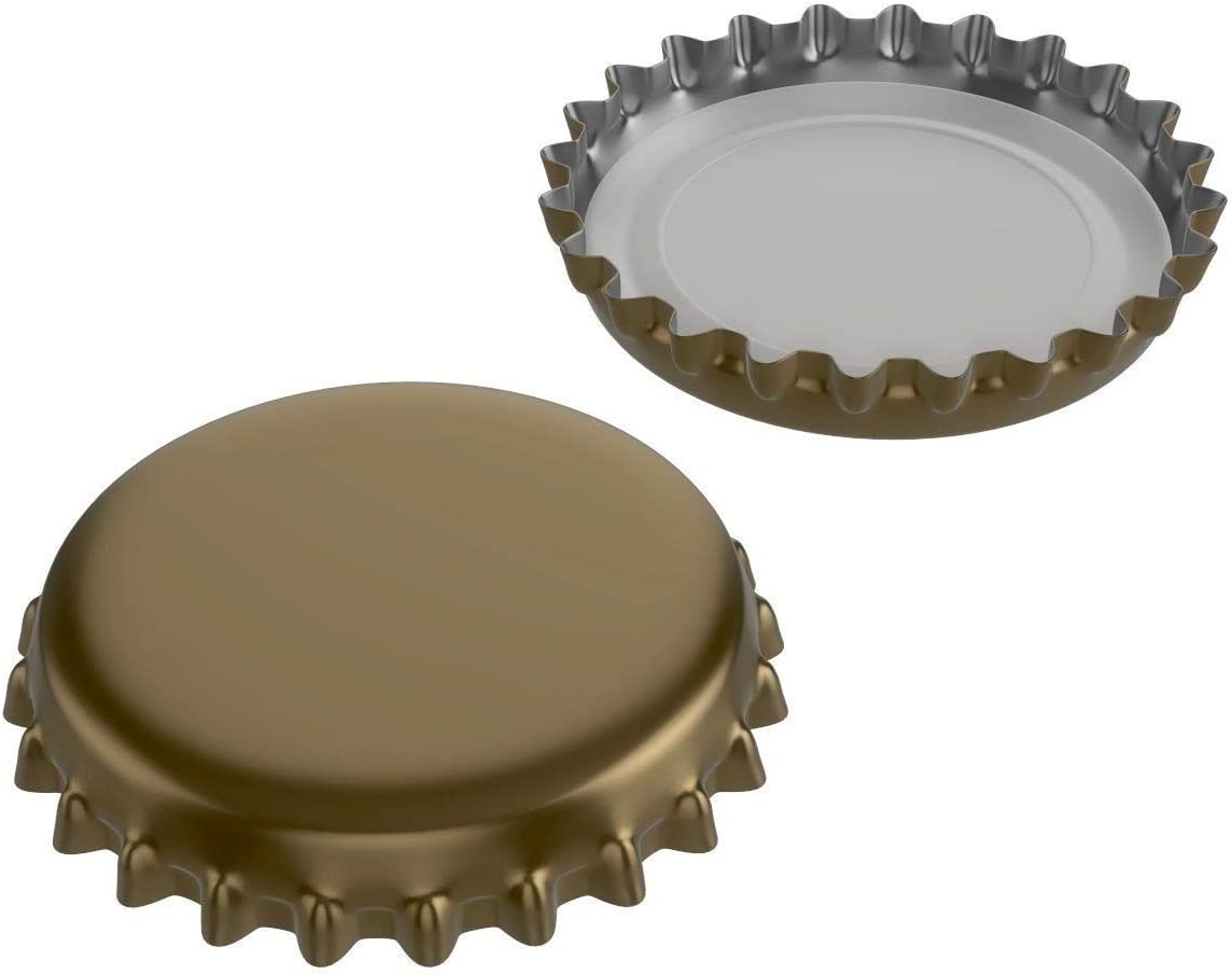 315 Pack Beer Bottle Caps Oxygen Absorbing Crowns 7 Assorted Colors Ideal for HomeBrew
