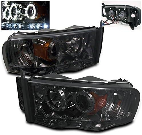 Spyder Auto 444-DR02-HL-SMC Projector Headlight