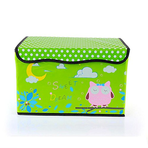 Disney Collapsible Storage Trunk Toy Box Organizer Chest: VANORIG Non-woven Toy Chest, Collapsible Storage Trunk