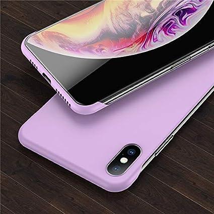 EWUEJNK Caja del Teléfono,Púrpura iPhone 6 6S 7 8 Plus XR X XS MAX ...