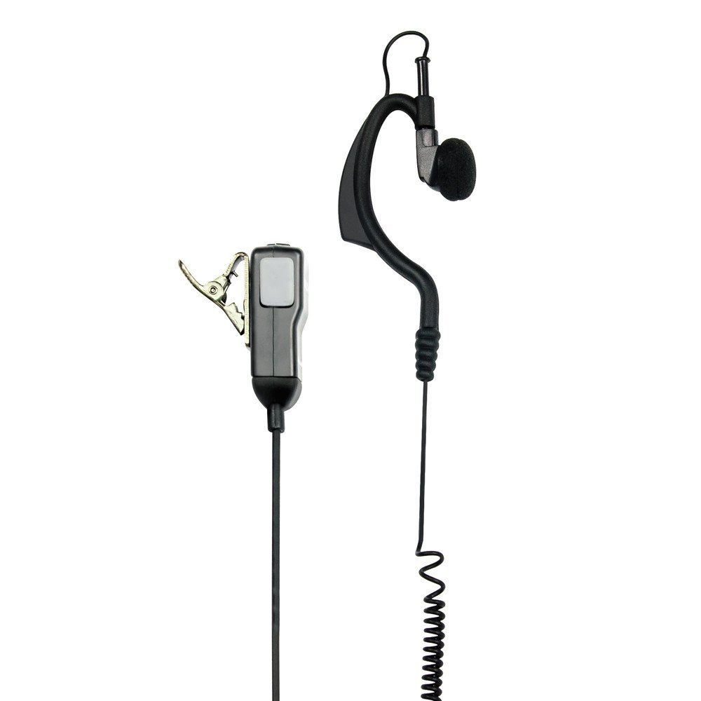 Midland C70904 Microphone avec oreillette contour doreille Prise coud/ée 2 broches