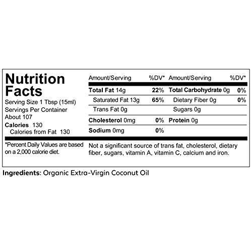 Viva Naturals Organic Extra Virgin Coconut Oil, 54 Ounce by Viva Naturals (Image #3)