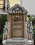 Bristol Falls Victorian Village Christmas House Door Display