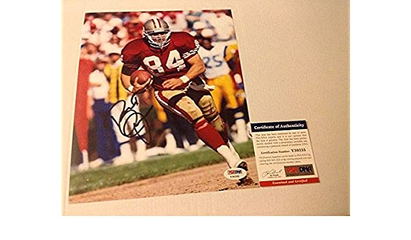 Brent Jones Signed 8x10 Picturegraph SF San Francisco 49ers - PSA DNA  Authenticated at Amazon s Sports Collectibles Store 3a29b9926