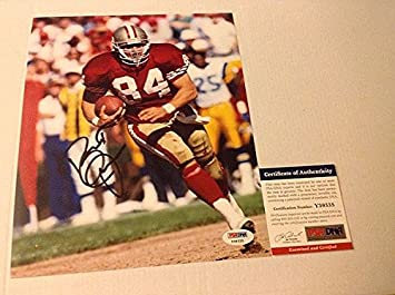 Brent Jones Signed 8x10 Picturegraph SF San Francisco 49ers - PSA DNA  Authenticated eddcd6591