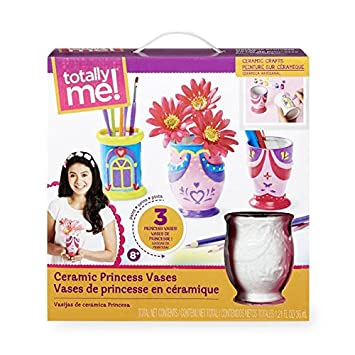 Amazon Totally Me Paint Your Own Ceramic Princess Vase Craft