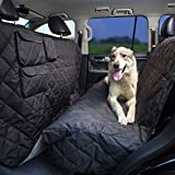 Tapiona XL Dog Seat Cover – Truck & SUV Extra Coverage Back Seat Cover – Large Pets Hammock – 96″x56″ – Heavy Duty, Waterproof, Nonslip, No Odor, Seat Anchors, Washable For Sale