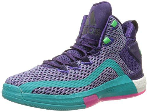 Price comparison product image adidas Performance J Wall 2 Boost J Shoe (Big Kid),Dark Purple/Blast Purple/Shock Pink,5.5 M US Big Kid