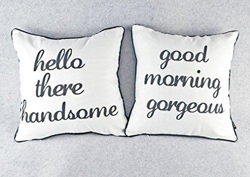 Decor Black Husband Pillow Cushion product image