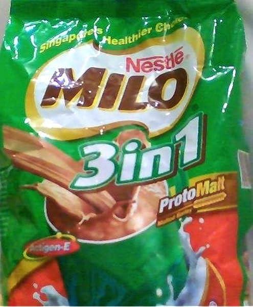 Nestlé MILO 3 en 1 chocolate de malta Bebida (18 bolsitas): Amazon.es: Alimentación y bebidas