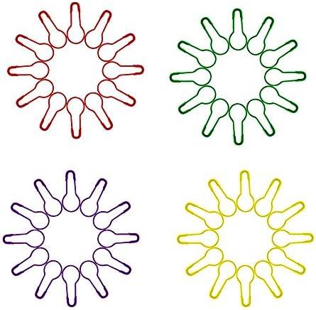 zuf/ällige Farbe Case Cover 100 St/ück Birnen-pins Calabash Pin Gourd Pins Sicherheitsnadeln F/ür Kleidung Crafting Und DIY