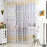 Best Norbi Curtains For Living Rooms - Norbi Romantic Tulle Window Screens Room Door Balcony Review