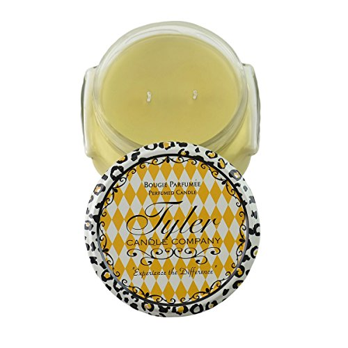51G8fF 52kL - Tyler Candles - Pineapple Crush Scented Candle - 11 Ounce 2 Wick Candle