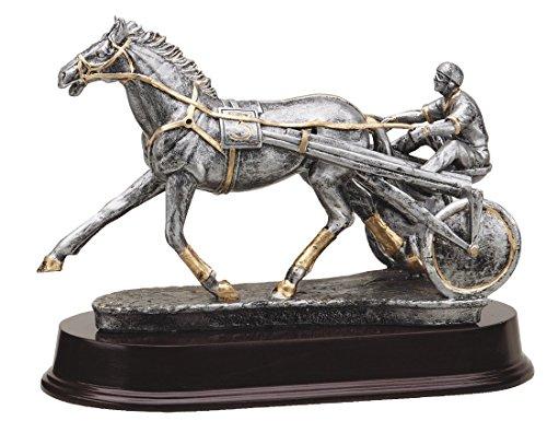 "The Trophy Studio Harness Racing-Sulky 7 1/2""tall -  RF3101SG"