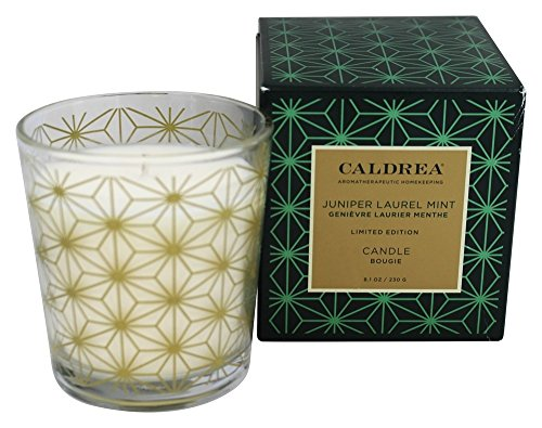 Caldrea - Candle Juniper Laurel Mint - 8.1 oz.