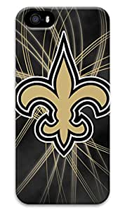 NFL- New Orleans Saints Back Hard Case Cover for iPhone 5/5s