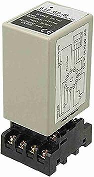 Movimiento y movimiento 61F GP-N AC 220 V - relé sin flotador Sensor de nivel de líquido controlador interruptor con zócalo: Amazon.es: Bricolaje y herramientas