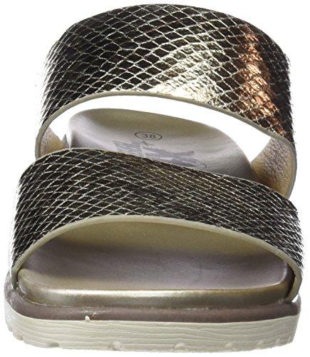 gold Ouvert Sandales Xti Femme 47942 Bout Or F6Oz48Y