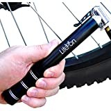 Life on Bicycle Mini Bicycle Hand Pump compatible with Presta and Schrader Valves
