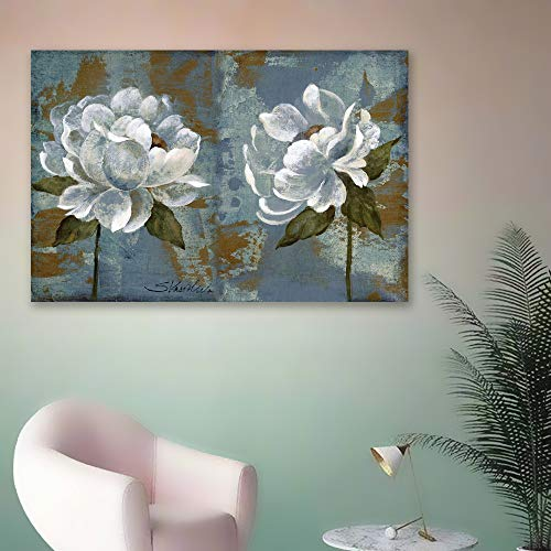 Vintage Flower Painting for Bedroom Living Room ation