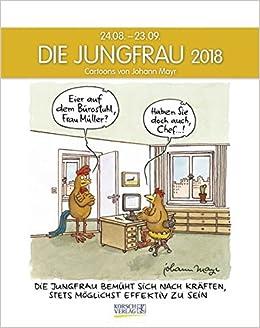 wassermann 2018 sternzeichenkalender cartoonkalender als wandkalender im format 19 x 24 cm