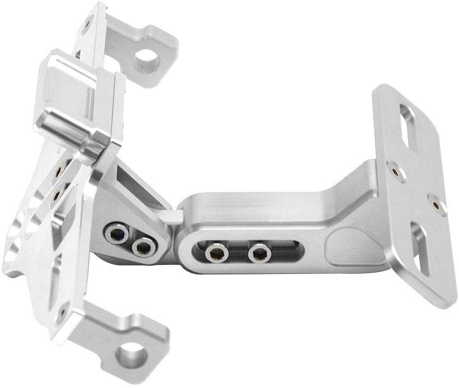YS Aluminium Fender Eye with 4 Screwholes 50mm x 38mm